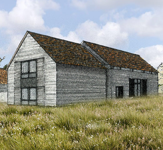Bells Yew Barn | Remodelled Home | Hawkes Architecture.