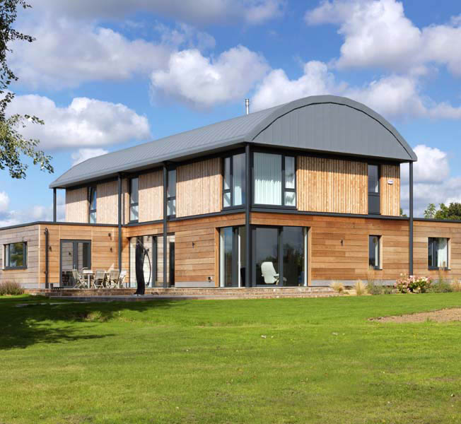 Halfpenny House | Para 55 Passive House | Hawkes Architecture.