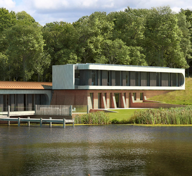 Lake House | Para 79 Passive House | Hawkes Architecture.