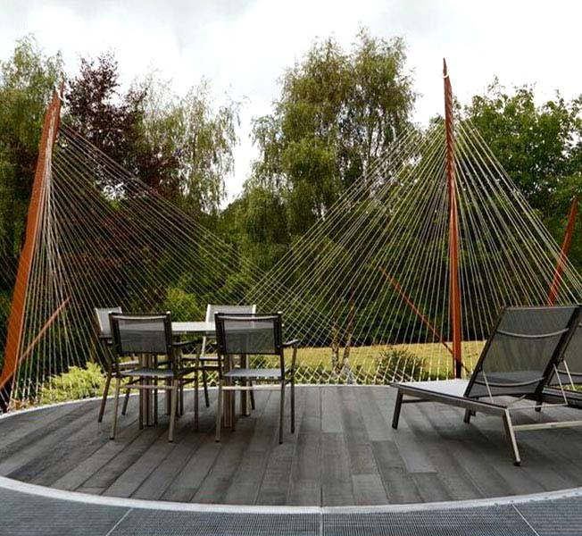 LSO Terrace | Bespoke Steel Structure | Hawkes Architecture.