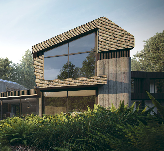 Sulby | Para 55 Passive House | Hawkes Architecture.