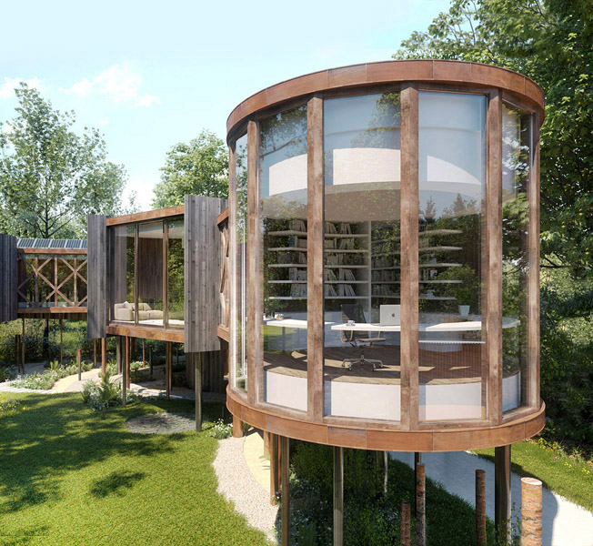 Tree House | Para 55 Passive House | Hawkes Architecture.