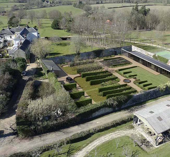 Walled Garden | New Build | Hawkes Architecture.