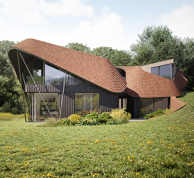 Water Lane | Para 79 Passive House | Hawkes Architecture.