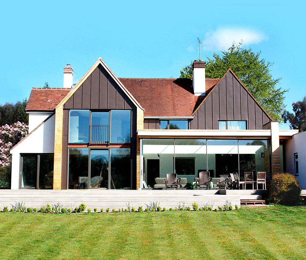 Allerdale, a remodelled energy efficient family home, designed by Hawkes Architecture.