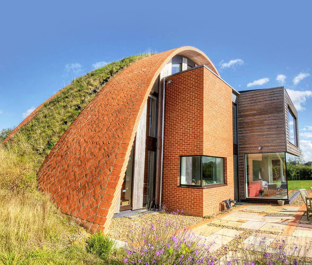 Crossway. A sustainable eco-friendly, PPS 7 passivhaus designed by Hawkes Architecture.