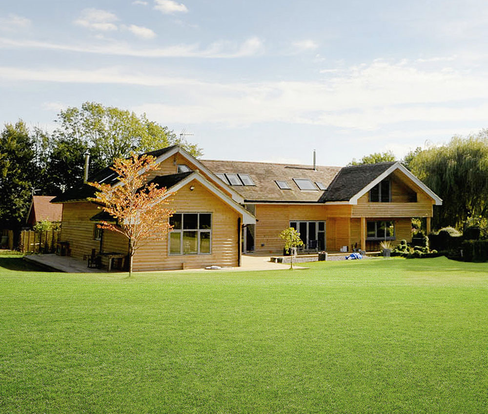 Monks is a sustainable family home, remodelled by Hawkes Architecture.