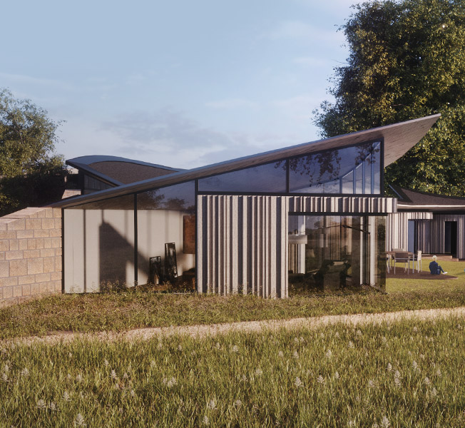 Ashdown Forest | Para 79 Passive House | Hawkes Architecture.