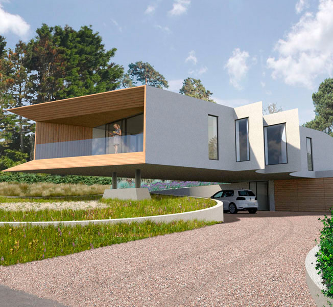 Cliff Top House | Para 55 Passive House | Hawkes Architecture.