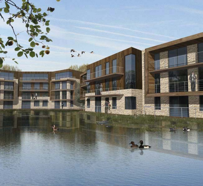 Fairford Eco Lakes | Sustainable Housing Development | Hawkes Architecture.