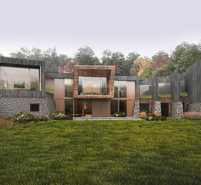 Hedgebank | Para 79 Passive House | Hawkes Architecture.