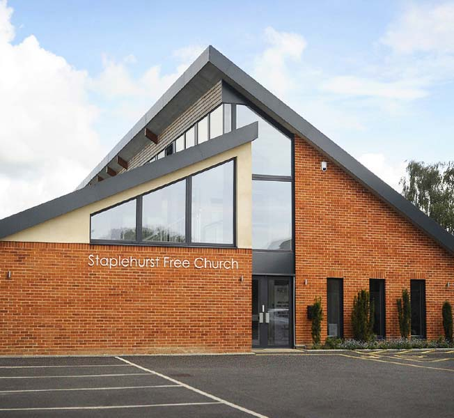 Staplehurst Free Church | Replacement Dwelling | Hawkes Architecture.