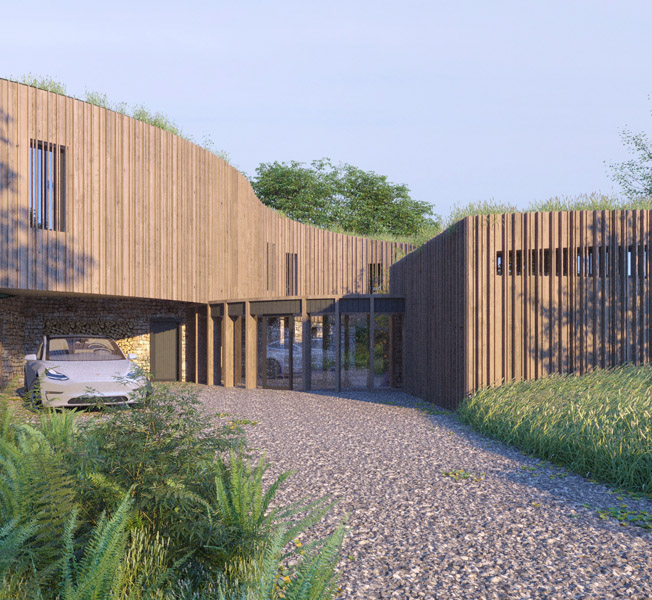 Bergbyr | Para 79 Passive House | Hawkes Architecture.