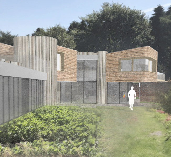 Hertford Gardens | Para 79 Passive House | Hawkes Architecture.