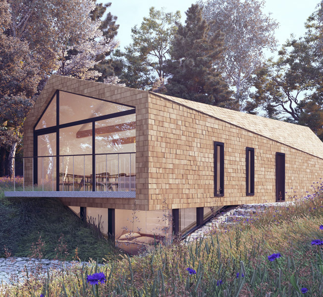 Orchard Barn | Replacement Dwelling | Hawkes Architecture.