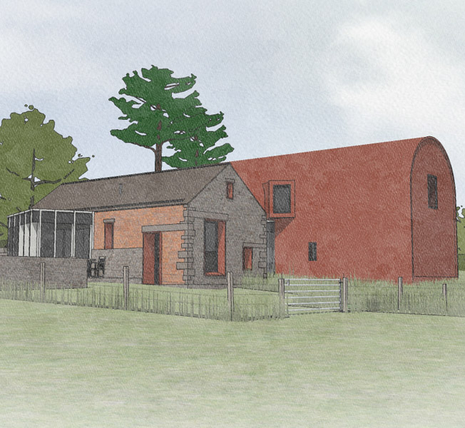 Scots Pines | Para 79 Passive House | Hawkes Architecture.