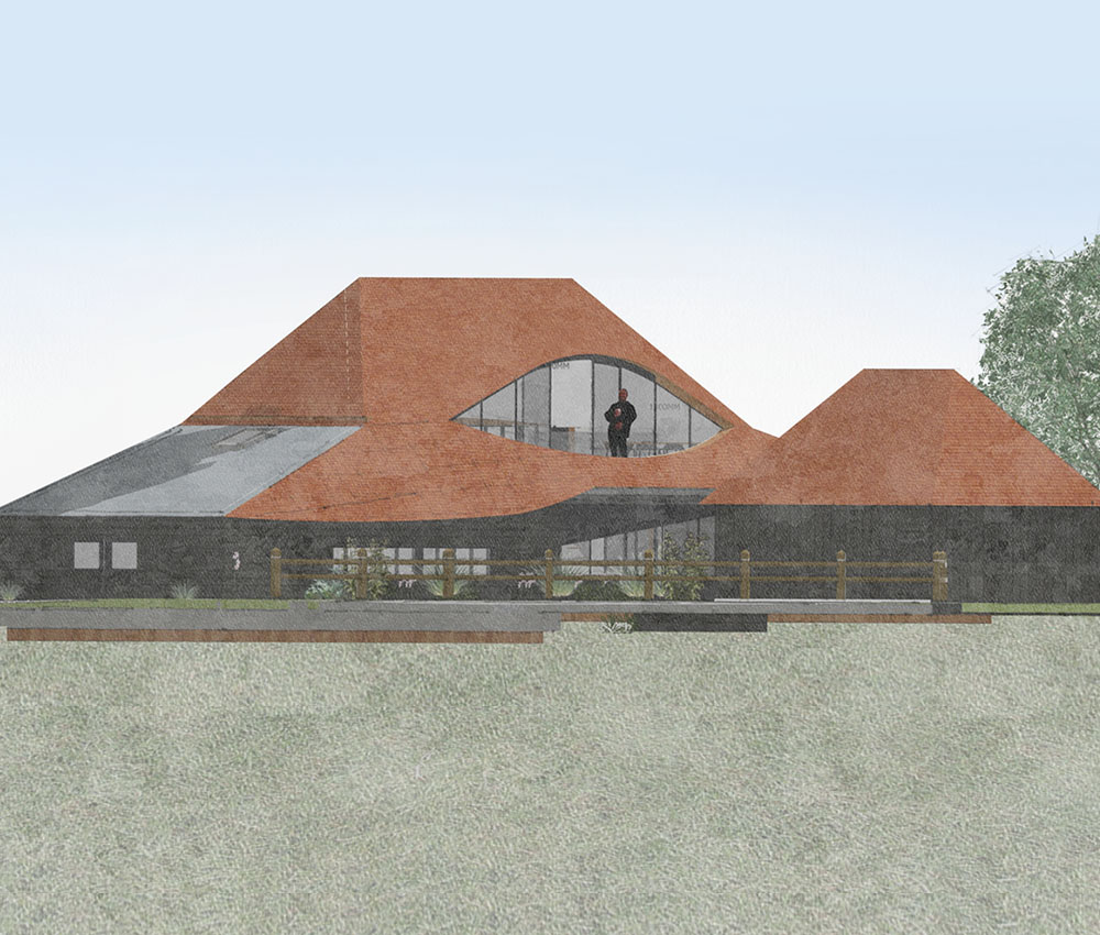 Benenden Barn (Renovation). Designed by Hawkes Architecture.