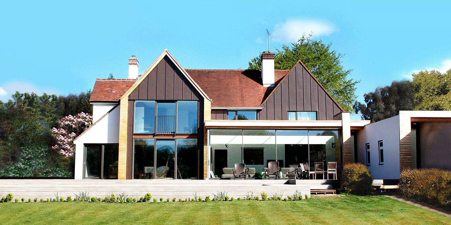 Allerdale, an eco-house renovation. Designed by Hawkes Architecture.
