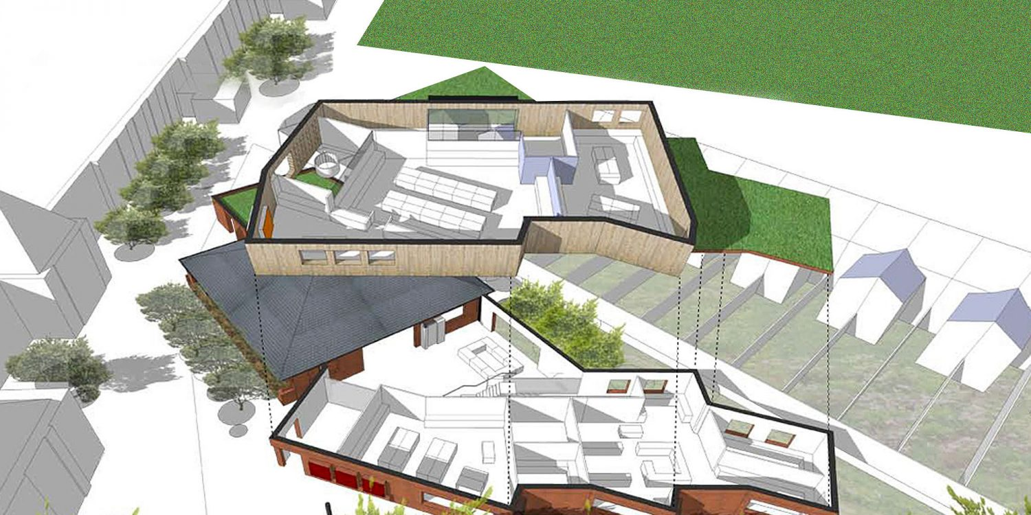 Chatham Grammar School. A sustainable commercial development, designed by Hawkes Architecture.