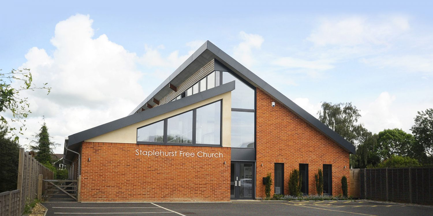 Staplehurst Free Church is a exceptional, energy efficient, community building, designed by Hawkes Architecture.