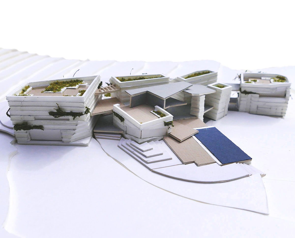 Garden view model of The Chalk Pit (Para 79). Designed by Hawkes Architecture, this energy efficient grand design, follows passive house principles.