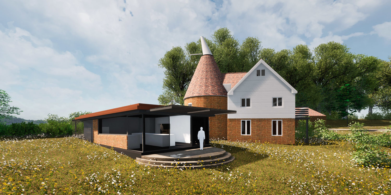 Oast Extension is a new extension and remodeling project by Hawkes Architecture