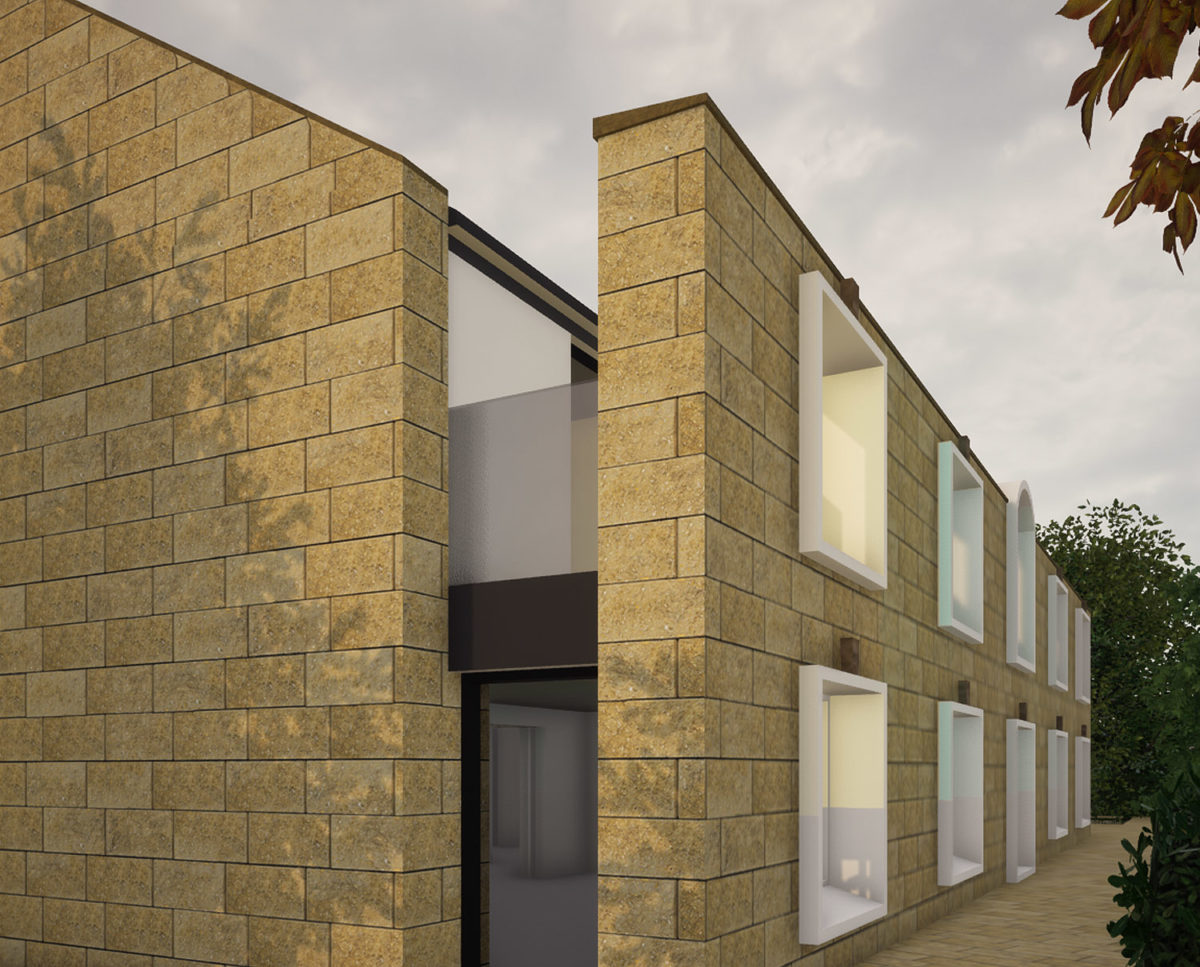 Floating wall of North Yorkshire (Para 79). Designed by Hawkes Architecture, this energy efficient grand design, follows passive house principles.